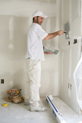 Drywall repair in Waukegan, IL by Mars Painting.