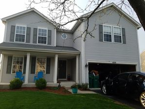 Before & After Exterior House Painting in Lake Villa, IL (1)