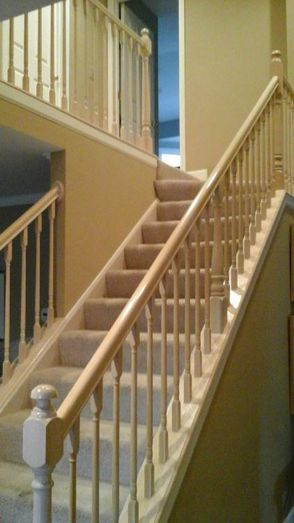 Before & After Railing Painting in North Chicago, IL (2)