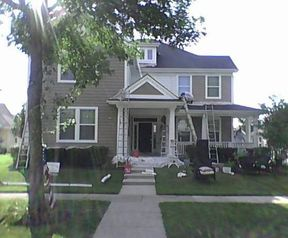 Before & After Exterior Painting in Lake Forest, IL (2)