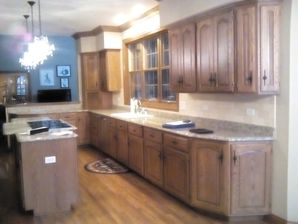 Before & After Interior Cabinet Painting in Parkcity, IL (1)