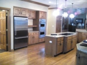 Before & After Interior Cabinet Painting in Parkcity, IL (2)